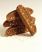 Biscotti con le nocciole (Chocolate hazelnut biscotti)