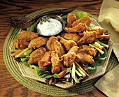Chicken Wings with Blue Cheese