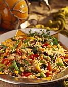 Vegetables with Israeli Couscous