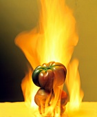 Peppers on Fire