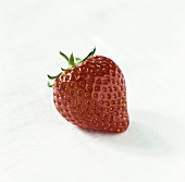 A Perfectly Ripe Strawberry