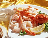 Shrimp Cocktail with Champagne