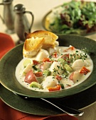 A Bowl of Scallop Chowder