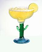 Margarita in Cactus Glass