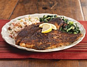 Blackened Catfish Dinner