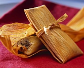 Two Tamales, One Opened