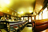 The Inside of a Diner without Customers