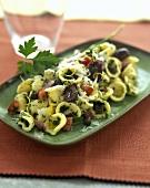 Orecchiette alla barese (Orecchiette with olives, Italy)