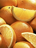 Oranges: Whole and Cut-Up