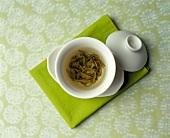 Green Tea: Overhead