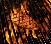 Chicken Breast on Grill