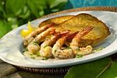 Jamaican Shrimp Appetizer