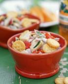 Tuna Salad with Mini Ritz Crackers