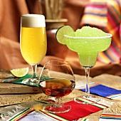 Beer, Brandy and a Frozen Margarita