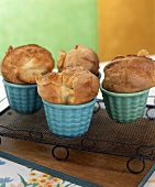 Popovers in baking dishes