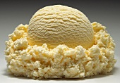 A Single Scoop of Vanilla Ice Cream