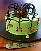 A Spider Cake for Halloween