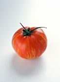 A Tomato with Yellow Streaks