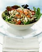 Shrimp, Feta and Orzo Salad