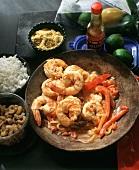 Camarão alho e óleo (Brazilian Shrimp Dish)