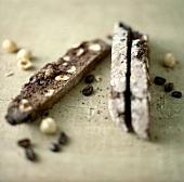 Biscotti di Amelia (Schokoladen-Haselnuss-Biscotti, Italien)