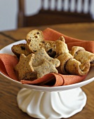 Assorted Baked Goods in a Pedestal Dish