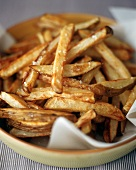 Oven Roasted French Fries with Salt