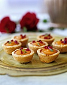 Mini Cheese Tartlets with Bell Pepper and Sage