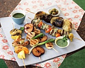 Assorted Grilled Kabobs