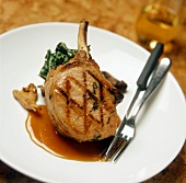 A Grilled Pork Chop