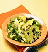Avocado and Pistachio Salad