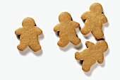 Four Gingerbread People