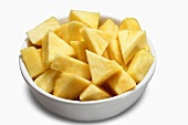 A Bowl of Pineapple Triangles