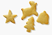 Assorted Christmas Cut Out Sugar Cookies