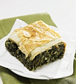 A Piece of Spanakopita
