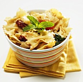 Bow Tie Pasta Salad with Sun-Dried Tomatoes