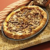 Crimini, Shiitake and Oyster Mushroom Pizza