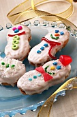 Holiday Snowman Cookies