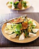 Fig and Fresh Mozzarella Salad