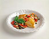 Pollo alla siciliana (Hähnchenbrust mit Tomaten & Kapern)