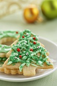A Christmas Tree Cookie