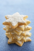 A Stack of Star Cookies
