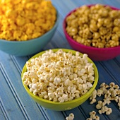 Assorted Types of Popcorn