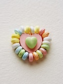 A Heart Shaped Candy Necklace