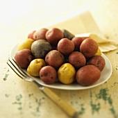 Tri-Colored New Potatoes
