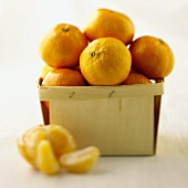 A Box of Clementines, One Peeled