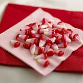 Colored Valentine Candy Corns