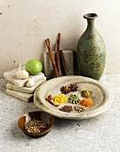 Indian Spice Still Life