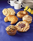 Assorted Store Bought Pastries