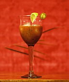 A Jalapeno Cocktail